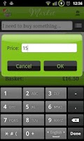 Screenshot of Let It Shop - Shopping List