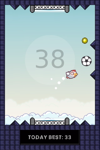 Flapping Cage: Avoid Spikes- screenshot