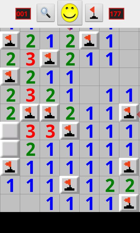 Minesweeper for Android - screenshot