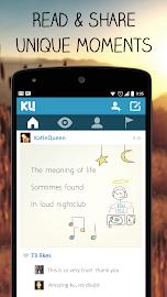 KU - creative social network Screenshot 1