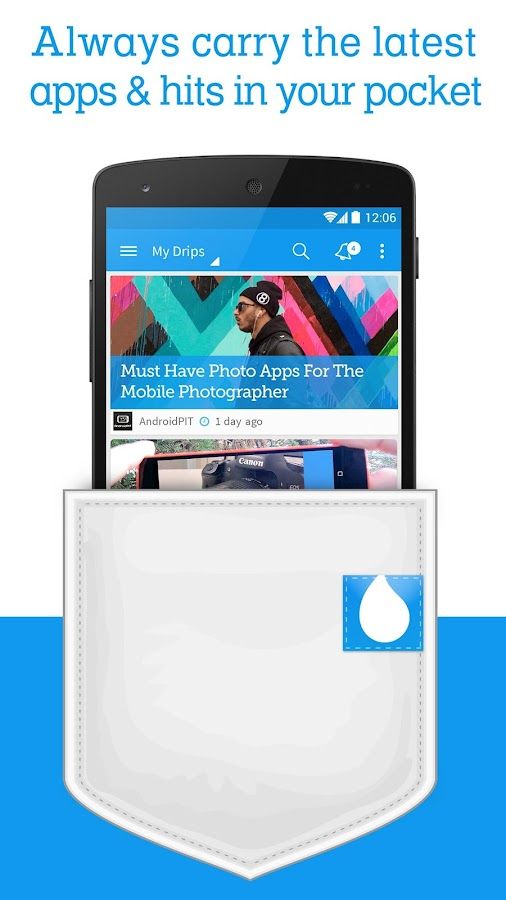 Drippler - Android Tips & Apps - screenshot