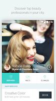 Screenshot of StyleSeat