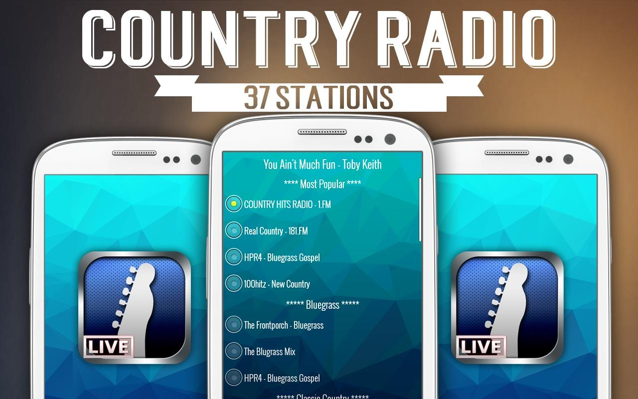 Country Radio - screenshot