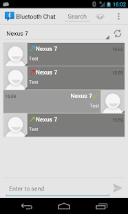 Bluetooth Chat- screenshot thumbnail