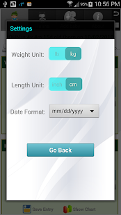 Growth Chart Trial - screenshot thumbnail