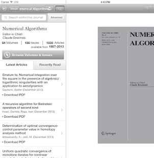Numerical Algorithms- screenshot thumbnail