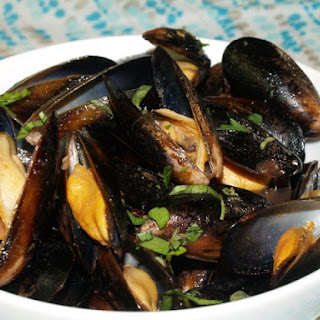 Mussels with Sambuca