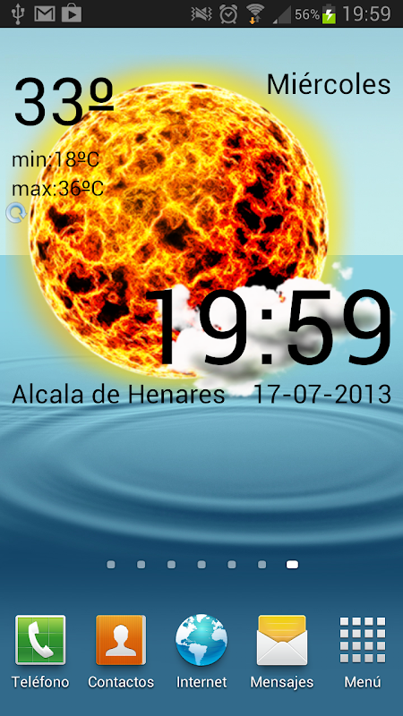 using PowerManager google weather widget android download here
