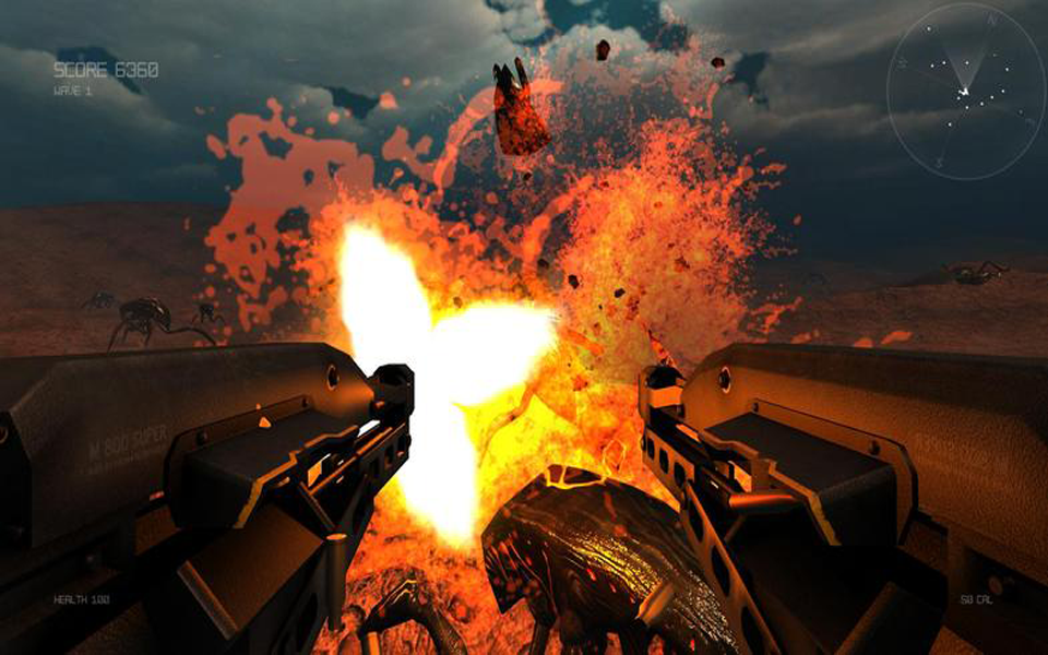 Insect Invasion 3D- screenshot