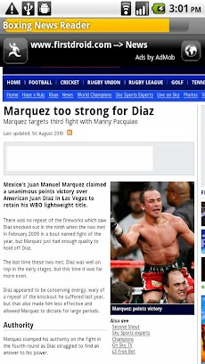Boxing News Readerのおすすめ画像2