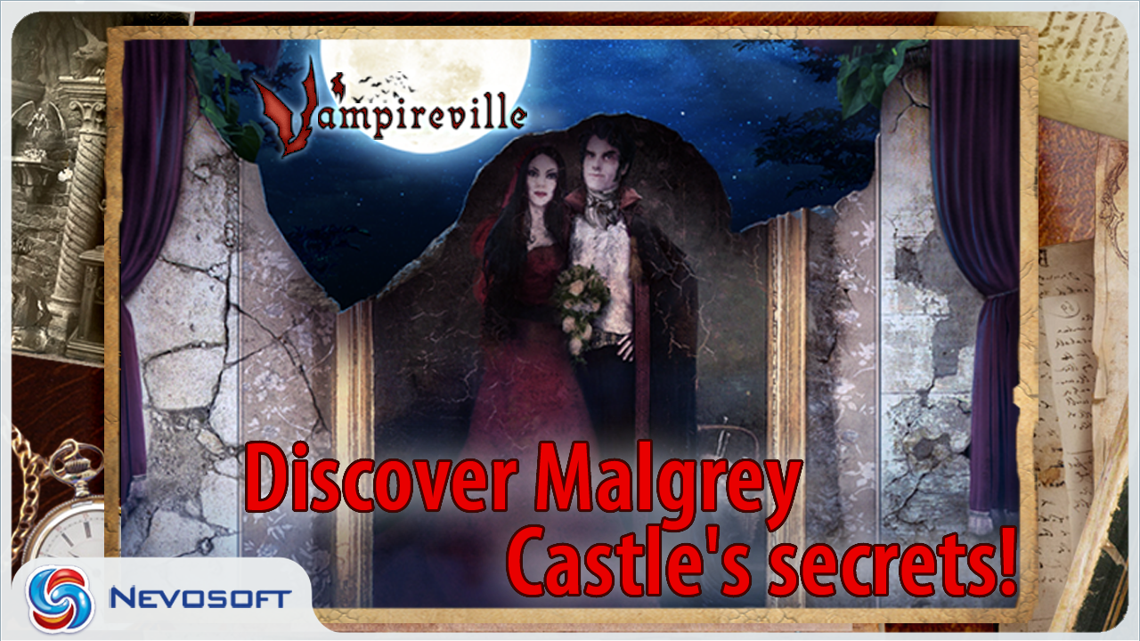 Vampireville Lite: seek & find- screenshot