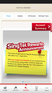 My SingTel - screenshot thumbnail