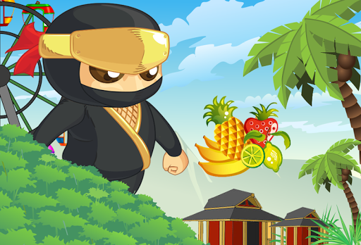 Ninja Kids Fruit Game