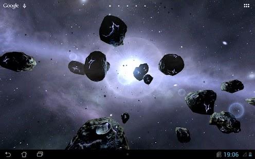 玩個人化App|Asteroids 3d Wallpaper免費|APP試玩