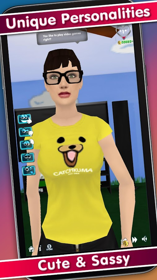 My Virtual Girlfriend- screenshot