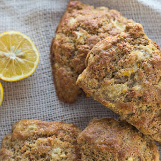 Whole Lemon Whole Grain Scones