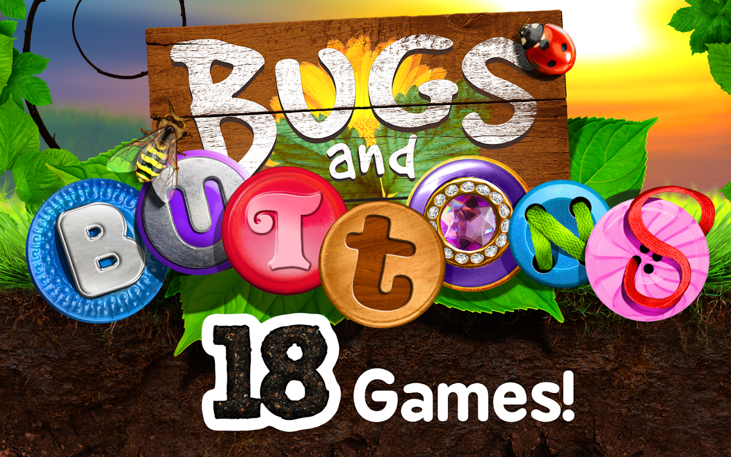 Bugs and Buttons- screenshot