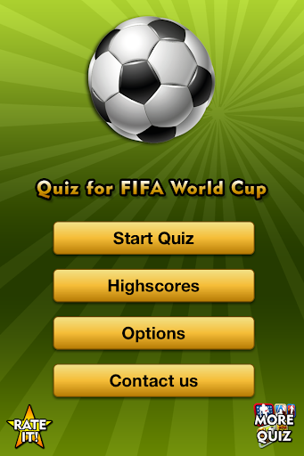 Quiz for FIFA World Cup