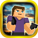 Cube Gun Survival Games icon