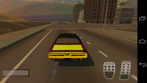 3D Muscle Racing Drifting Car