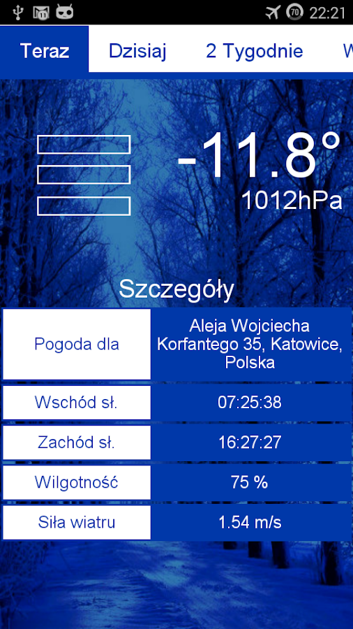 Weather & Flip Clock Widgets - screenshot