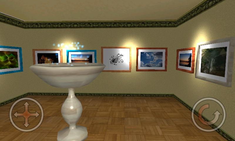 Virtual Photo Gallery 3D- screenshot