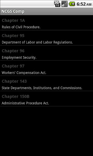 NC General Statutes - WorkComp