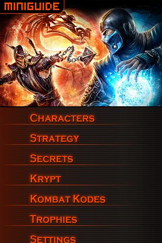 MINIGUIDE Mortal Kombat 2011 - screenshot