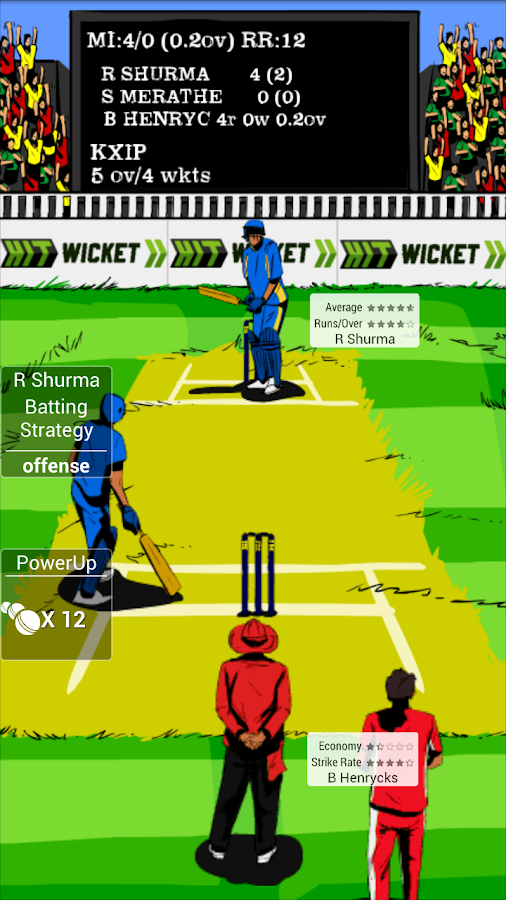 HWC Indian League Cricket - screenshot