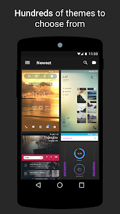 Themer: Launcher, HD обои Screenshot