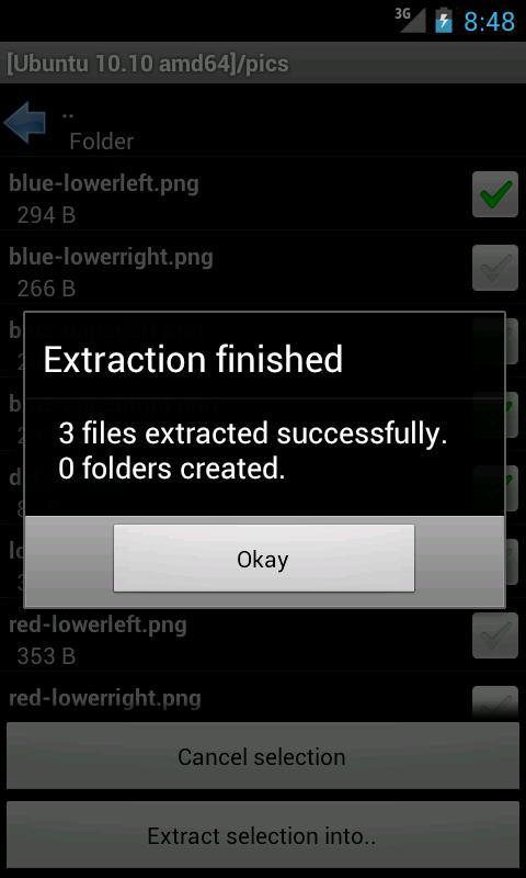 ISO Extractor screenshots