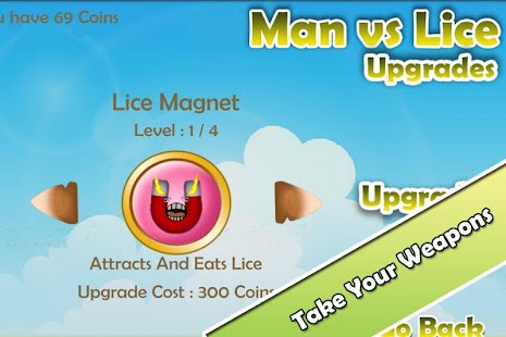 Funny Game - Man vs Lice FREE- screenshot thumbnail