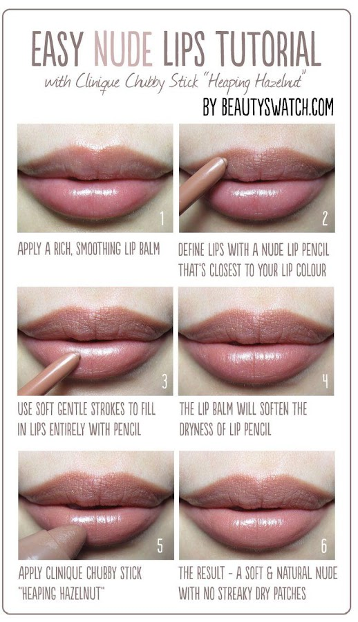Lip Makeup Step By Step - Android Apps On Google Play