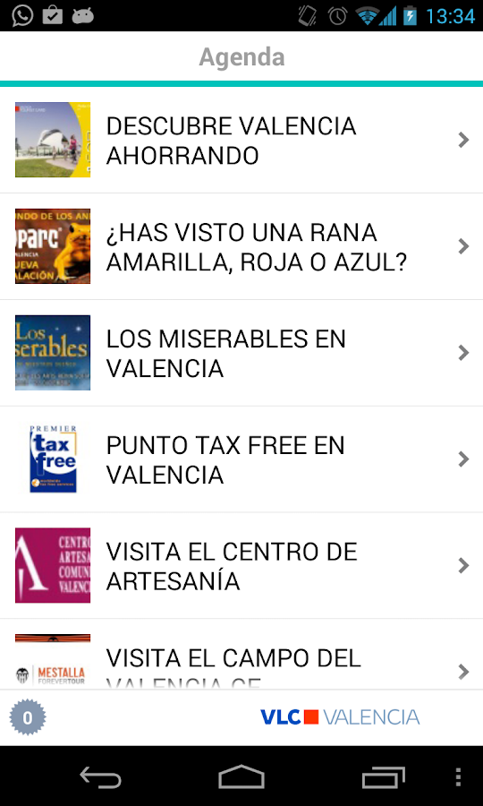 VLC Valencia - screenshot