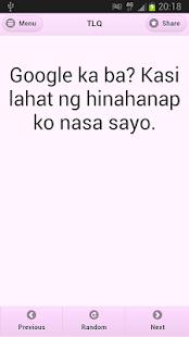Tagalog Love Quotes - screenshot thumbnail