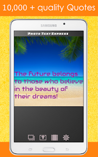 Photo Editor Text Fonts Effect Screenshot