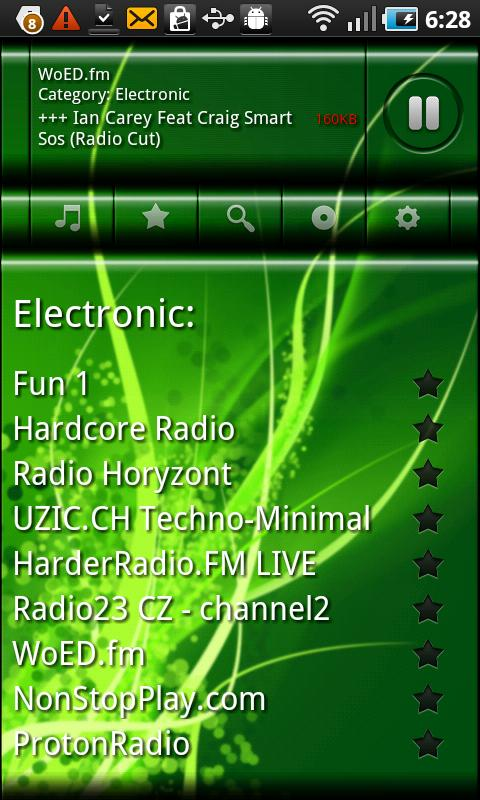 VirtualRadio - screenshot