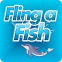 Dolphin Tale: Fling a Fish logo