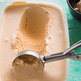 No Churn Butterscotch Ice Cream