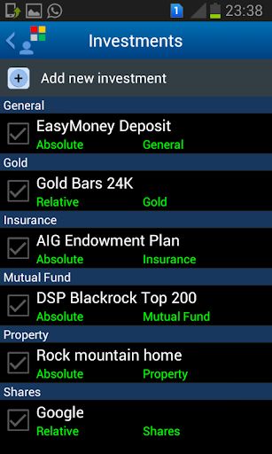 myFinPort Personal Finance
