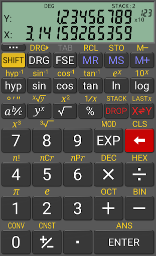 Screenshot for RealCalc Plus in United States Play Store