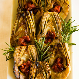 Grilled Baby Artichokes
