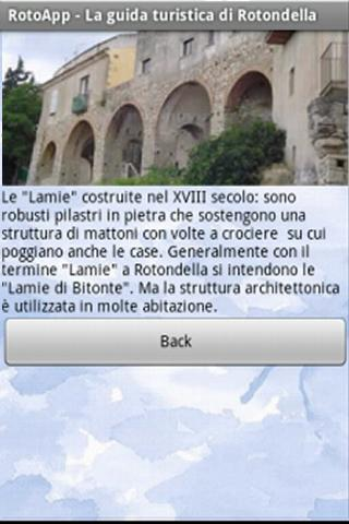 RotoApp - Guida Turistica - screenshot