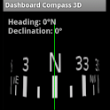 Dashboard Compass 3D icon
