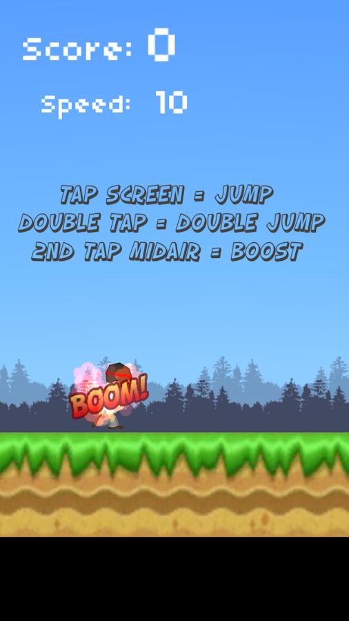 Manic Runner - στιγμιότυπο οθόνης