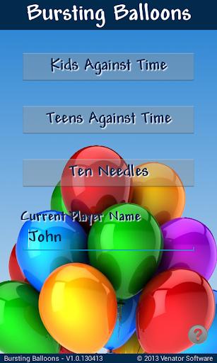 Bursting Balloons Free