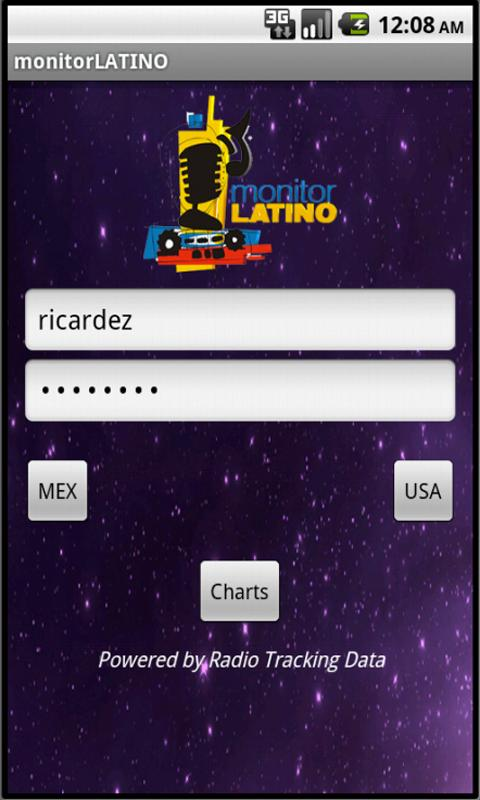 monitor LATINO - screenshot