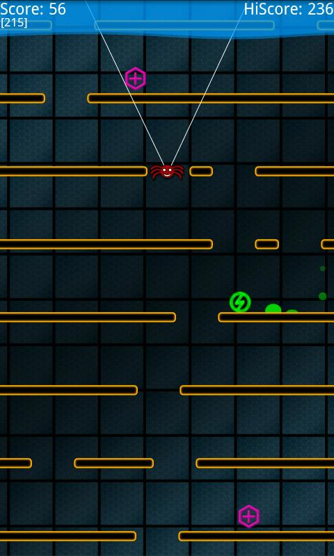 Fall-E (fall down) - screenshot