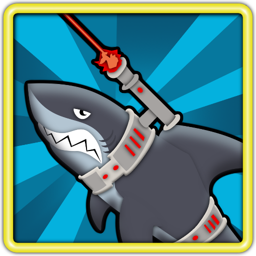 Laser Shark Dodge Pro 休閒 LOGO-阿達玩APP