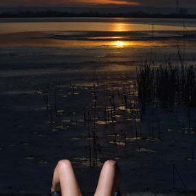 Sunset by Bogdan Negoita - People Fashion ( fashion, sunset )